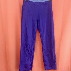 Fleece Lined Active Wear Pants in Blue -- Danskin